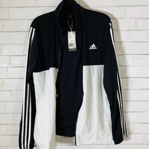 Adidas Black and White Track/Lounge Suit/Set
